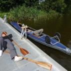 Entspannung auf dem Bootssteg