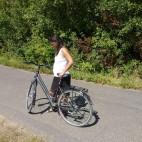 Mit dem Rad unterwegs