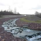 Wasserzufluss zum See