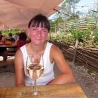 ... mit leckerem Wein