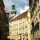 malerische Gassen in Sopron
