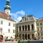 Malerische Plätze in Sopron