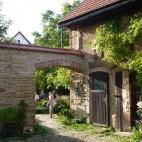 Romantische Ecken im Ziegenhof