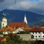 Brixen, Blick auf die Kirche