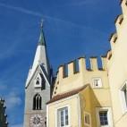 Viele Zinnen gibt es in Brixen