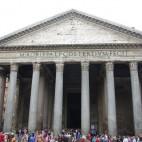 das Pantheon von außen