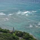 Auf der Insel gibt es mehrere Leuchttürme