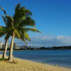 Man glaubt es kaum - in Waikiki gibt es auch ruhige Strände