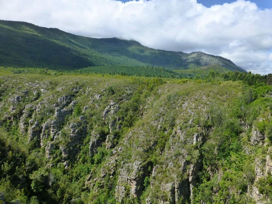 Das Tal des Storm River