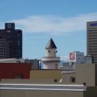 Im Malaienviertel gibt es einige Moscheen, die sich von der Skyline der Stadt abheben.
