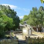 In Clanwilliam gibt es schöne Gärten, in einigen kann man einen Kaffee oder Rooibos genießen.
