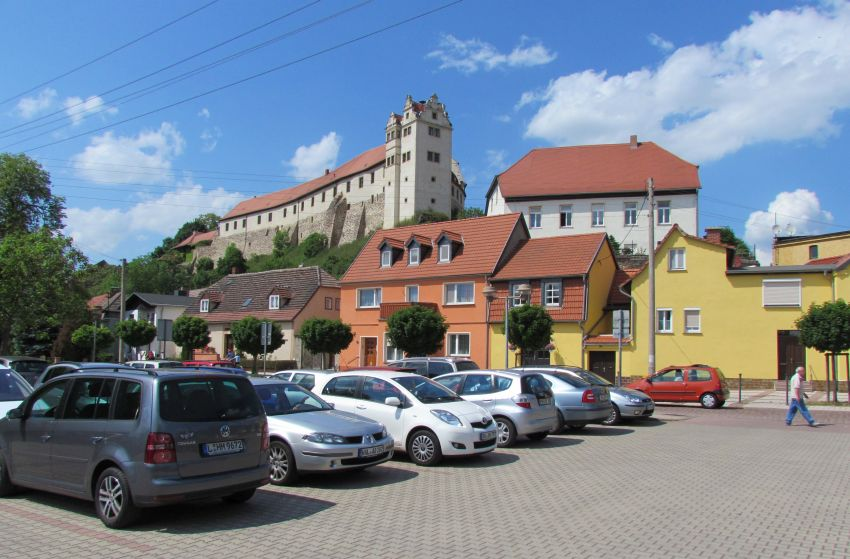 Wettin, Burg
