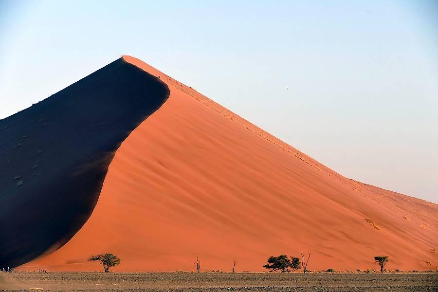 Sanddünen in der Namib