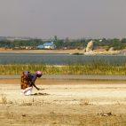 Die Solegewinnung am Singidasee ist mühsam.