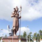 Der größte Hindutempel von Mauritius….