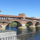 Brücke über den Ticino in Pavia