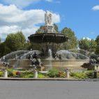 Zentraler Brunnen in Aix-en-Provence