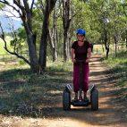 … führte unsere Segway Tour durch Wälder, Felder und Weinberge.