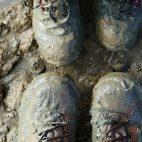 … danach sollte man allerdings die Schuhe putzen.