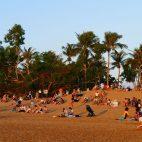 Der Sonnenuntergang am Mindil Beach ist ein Volksfest…