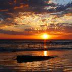 Während an der Westküste von Broome fast täglich ein schöner Sonnenuntergang zu beobachten ist…