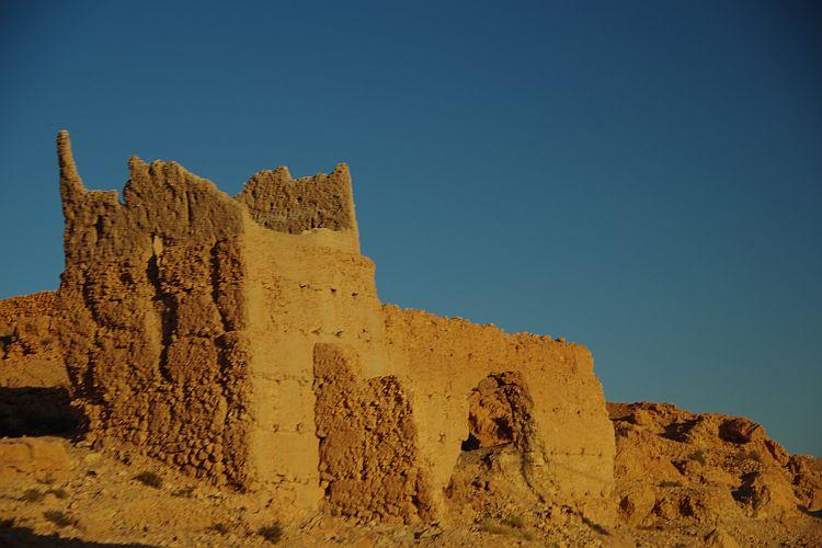Alte Lehmhütte in Marokko