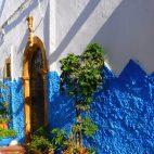 Beim Bummel durch die Altstadt von Rabat fühlt man sich an griechische Dörfer erinnert.