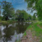 Treidelweg entlang des Storkower Kanals