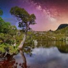 Stille Nacht in den Cradle Mountains (Tasmanien)