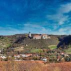 Blick auf Schloss Neuenburg